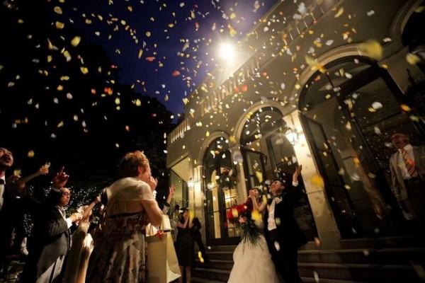 結婚式のクライマックス