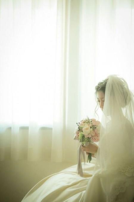結婚式を控えた花嫁様