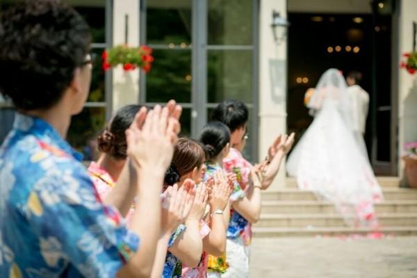 結婚式場のスタッフ