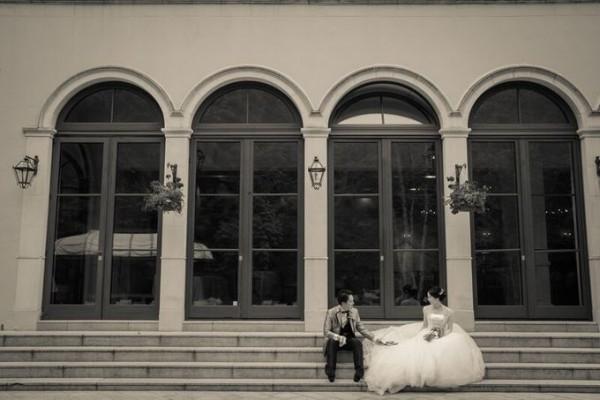 ジャルダンドゥボヌール|新郎新婦の二人