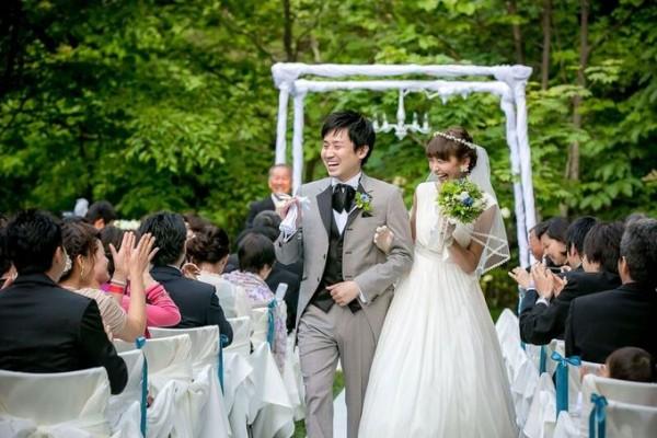 新郎新婦のお二人|結婚式