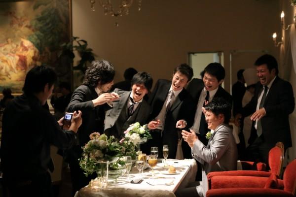 結婚式当日|友人