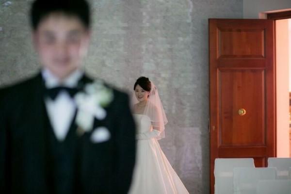結婚式直前|ジャルダンドゥボヌール