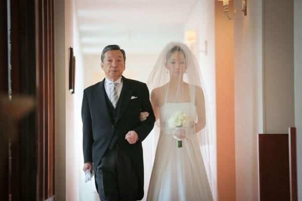 父と花嫁|結婚式