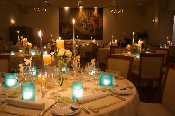 キャンドル|結婚式のディスプレイ