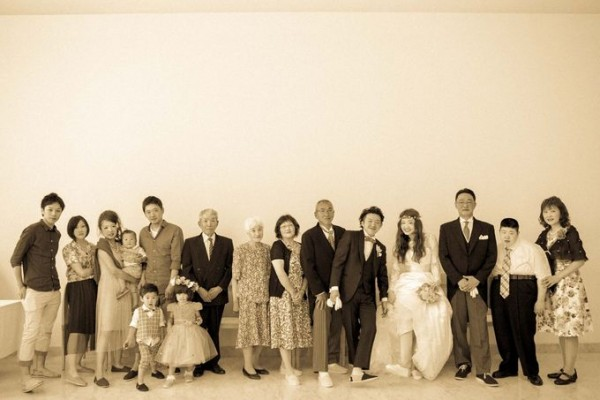 結婚式に参列したご家族様