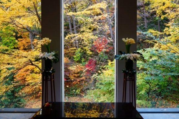 秋のジャルダンドゥボヌール