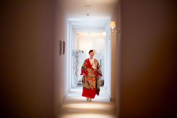 和装の花嫁様