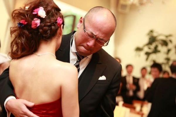 花嫁様とお父様