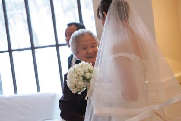花嫁様とお祖母様