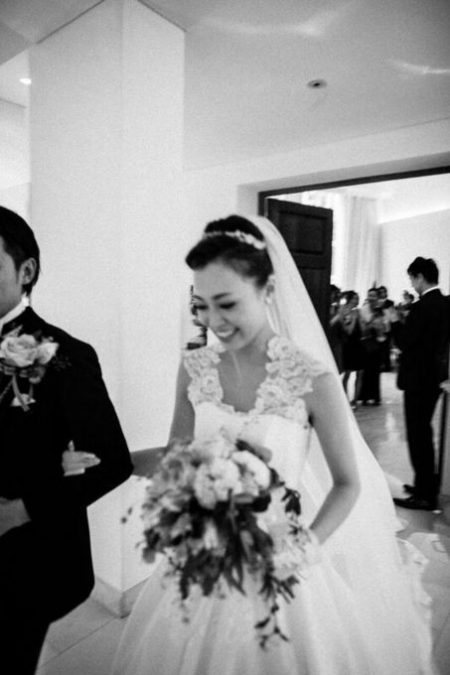 花嫁のラストシーン