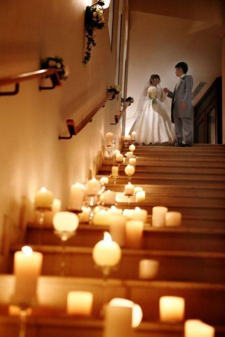 大階段のディスプレイ|ジャルダンドゥボヌール