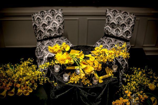 黄色と黒のコーディネート|ジャルダンドゥボヌール