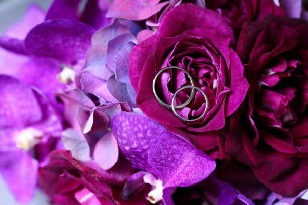 お花と指輪|ジャルダンドゥボヌール