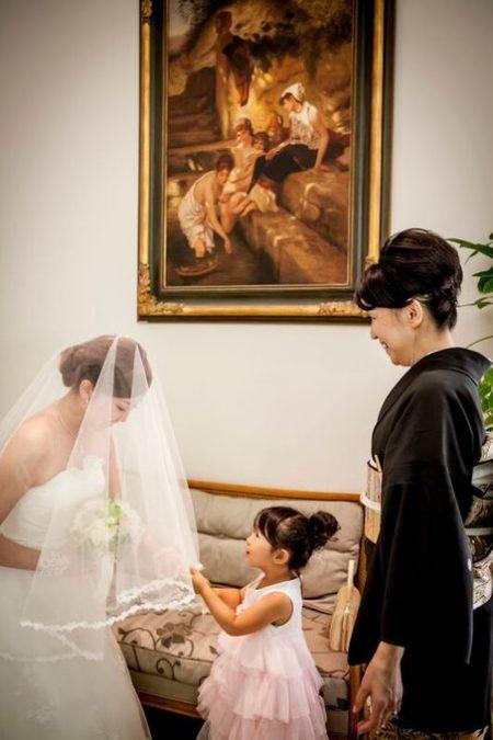 花嫁様とお子様|ジャルダンドゥボヌール