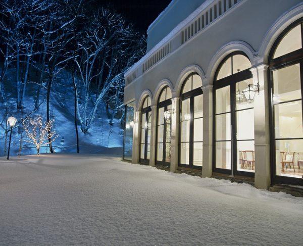 雪景色|ジャルダンドゥボヌール