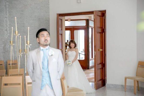 挙式前|新郎新婦の二人