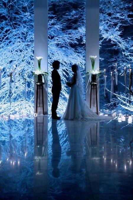 冬の挙式会場|ジャルダンドゥボヌール