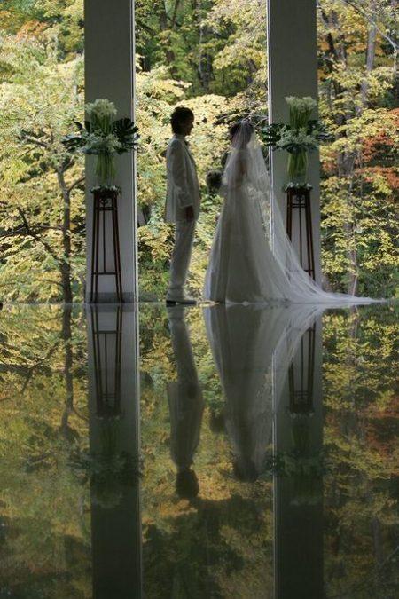 秋の挙式会場|ジャルダンドゥボヌール