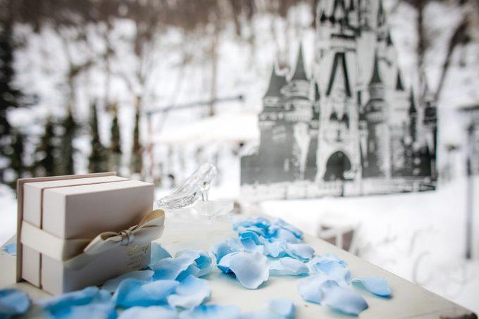 ディスプレイ|冬の結婚式