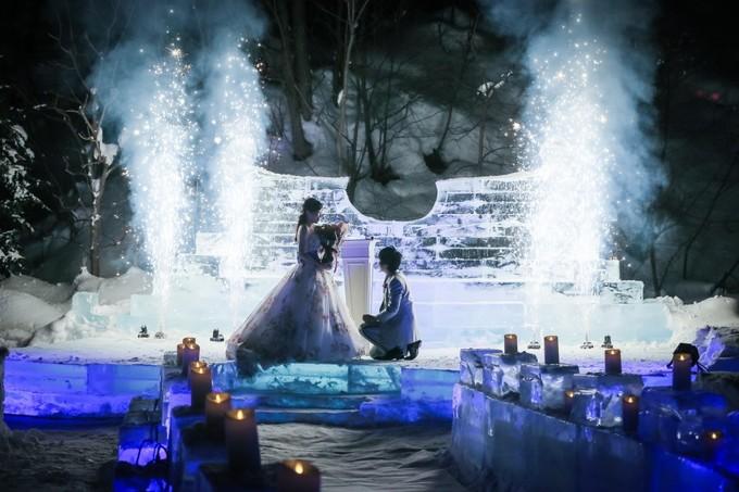 冬の結婚式|ジャルダンドゥボヌール