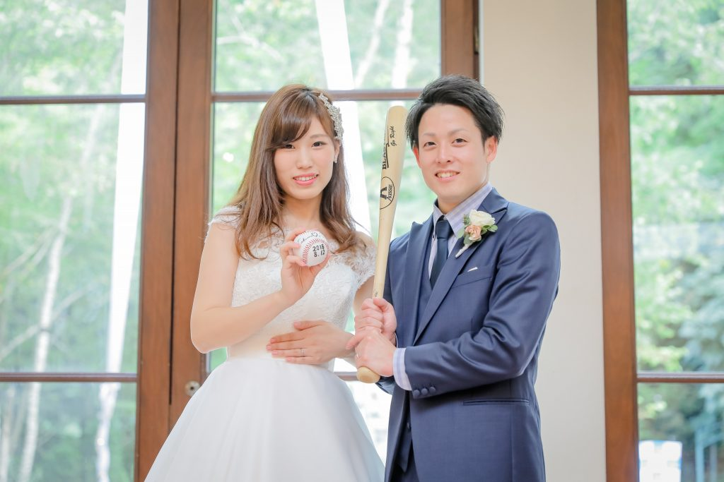 2018.8.12 ~OUR WEDDING DAY, PLAY BALL!!~