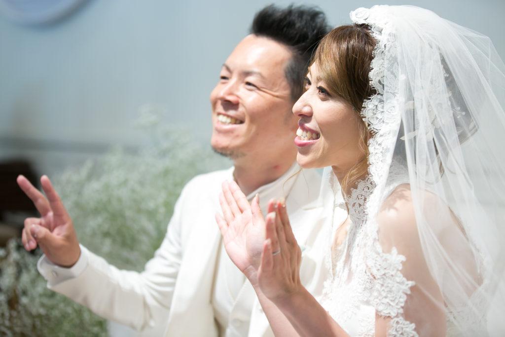 待ち焦がれた WEDDING DAY